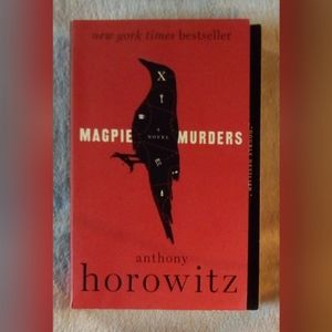 MAGPIE MURDERS BOOK BY ANTHONY HORWITZ